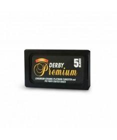 Lame de ras Derby Premium Black 5 buc DPB5