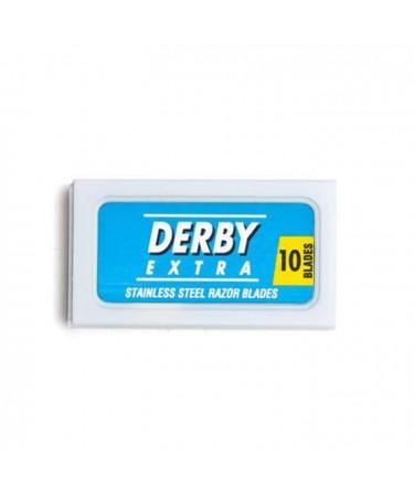 Lame de ras Derby Blue 10 buc DB10