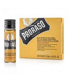 Ulei tratament pentru barba Proraso Wood & Spice 4x17 ml 400179