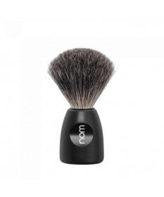 Pamatuf Pure Badger cu par de bursuc Lasse 81 Black LASSE 81 BL