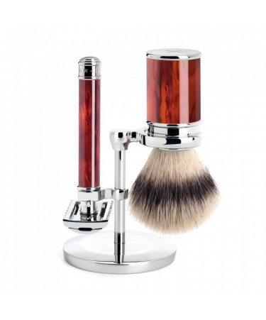 Set barbierit cu aparat clasic piaptan deschis S91M103