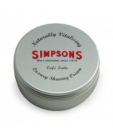 Crema de barbierit Simpson Luxury Cafe Latte 125 ml SLCLSC125