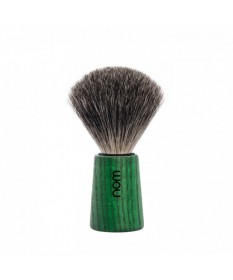 Pamatuf Pure Badger cu par de bursuc cu maner din lemn de frasin Theo 81 Green Ash