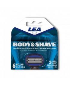 Rezerve lame de ras LEA Body & Shave 3.1293