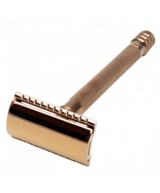 Aparat de ras clasic Safety Razor Merkur 24C Rose Gold