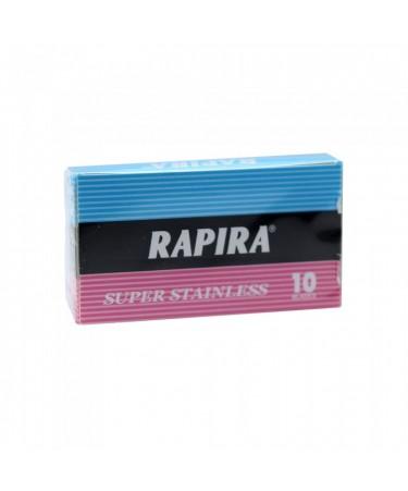 Rezerve lame de ras Rapira Super Stainless 10 bucati RSS10