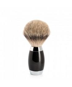 Pamatuf Silvertip Badger cu par de bursuc si maner din fibra de carbon 493 ED 1 - Pamatufuri
